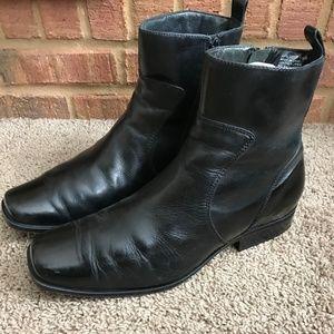 Rockport Men's Black Leather Boots.